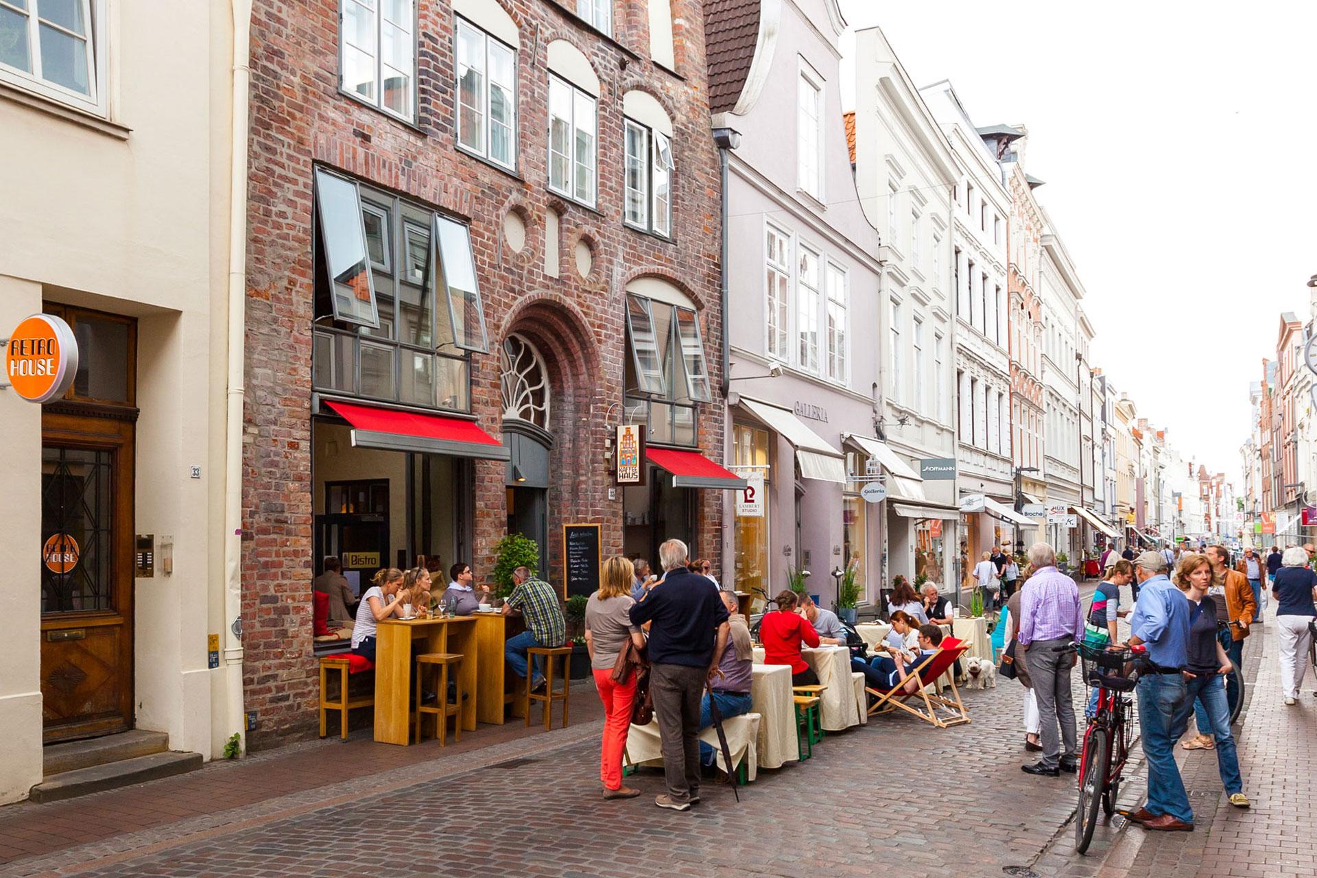 Shopping In Lübeck Einkaufsmeile Mit über 100 Individuellen