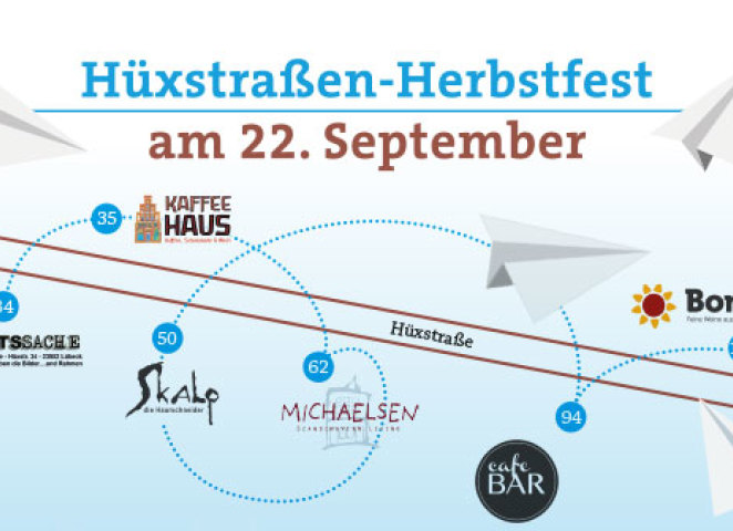 Hüxstraße Autumn Festival on September 22